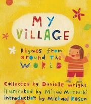 Book Cover for MY VILLAGE