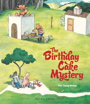 Cover art for THE BIRTHDAY CAKE MYSTERY