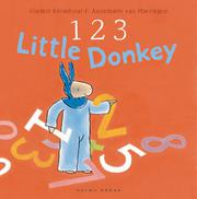 Cover art for 1 2 3 LITTLE DONKEY