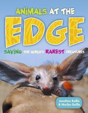 Cover art for ANIMALS AT THE EDGE