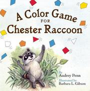 Cover art for A COLOR GAME FOR CHESTER RACCOON