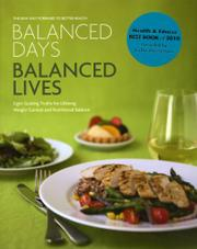 Cover art for BALANCED DAYS, BALANCED LIVES
