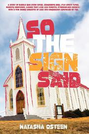 Book Cover for SO THE SIGN SAID