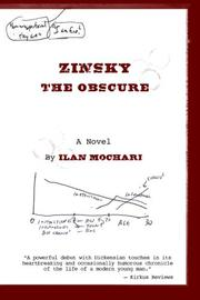 Cover art for Zinsky the Obscure