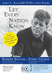 Cover art for LET EVERY NATION KNOW