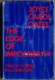 THE EDGE OF IMPOSSIBILITY by Joyce Carol Oates