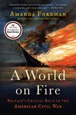 A WORLD ON FIRE by Amanda Foreman