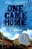Cover art for ONE CAME HOME