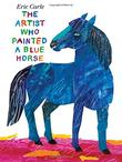 Cover art for THE ARTIST WHO PAINTED A BLUE HORSE