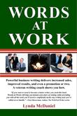 WORDS AT WORK by Lynda McDaniel