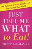 Cover art for JUST TELL ME WHAT TO EAT!
