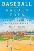 Cover art for BASEBALL IN THE GARDEN OF EDEN