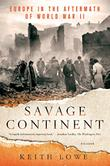 Cover art for SAVAGE CONTINENT