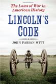 Cover art for LINCOLN'S CODE