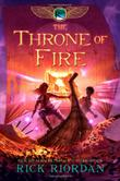 Cover art for THE THRONE OF FIRE