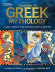 Cover art for TREASURY OF GREEK MYTHOLOGY