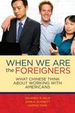 Cover art for WHEN WE ARE THE FOREIGNERS