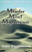 Cover art for MURDER MOST MYSTERIOUS