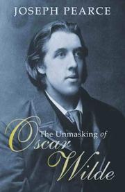 Cover art for THE UNMASKING OF OSCAR WILDE