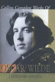 COLLINS COMPLETE WORKS OF OSCAR WILDE by Oscar Wilde
