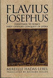 FLAVIUS JOSEPHUS by Mireille Hadas-Lebel