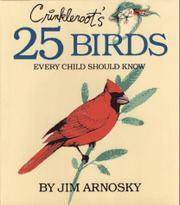 Cover art for CRINKLEROOT'S 25 BIRDS EVERY CHILD SHOULD KNOW