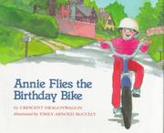 Cover art for ANNIE FLIES THE BIRTHDAY BIKE