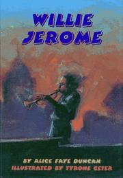 WILLIE JEROME by Alice Faye Duncan
