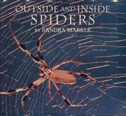 OUTSIDE AND INSIDE SPIDERS by Sandra Markle
