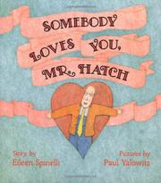 Cover art for SOMEBODY LOVES YOU, MR. HATCH