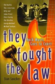 THEY FOUGHT THE LAW by Stan Soocher