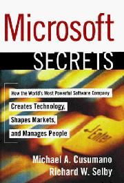 Cover art for MICROSOFT SECRETS