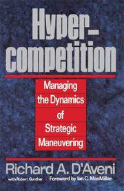 HYPERCOMPETITION by Richard A. D'Aveni