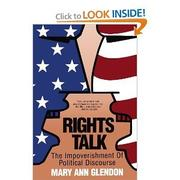 Cover art for RIGHTS TALK