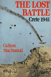 THE LOST BATTLE by Callum MacDonald
