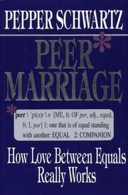 PEER MARRIAGE by Pepper Schwartz