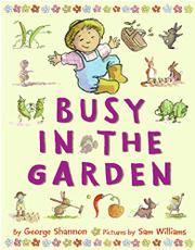 Book Cover for BUSY IN THE GARDEN