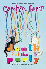 DEATH OF THE PARTY by Carolyn Hart