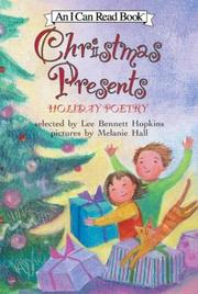 CHRISTMAS PRESENTS by Lee Bennett Hopkins
