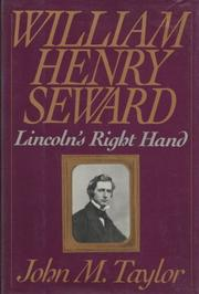 Cover art for WILLIAM HENRY SEWARD