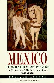 Cover art for MEXICO: BIOGRAPHY OF POWER