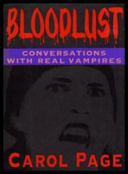 BLOOD LUST by Carol Page