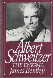 Cover art for ALBERT SCHWEITZER