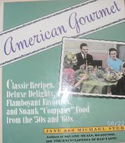 AMERICAN GOURMET by Jane Stern