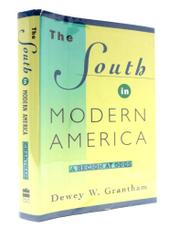 Cover art for THE SOUTH IN MODERN AMERICA