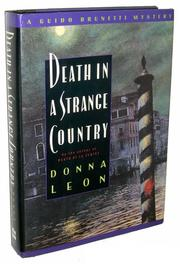 Book Cover for DEATH IN A STRANGE COUNTRY