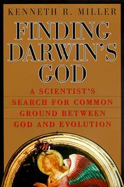 Cover art for FINDING DARWIN'S GOD