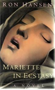 Cover art for MARIETTE IN ECSTASY