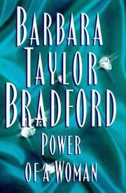 POWER OF A WOMAN by Barbara Taylor Bradford