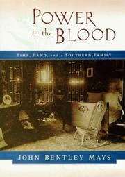 Book Cover for POWER IN THE BLOOD